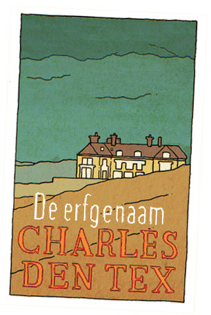 Cover of the book 'De erfgenaam' by Charles den Tex